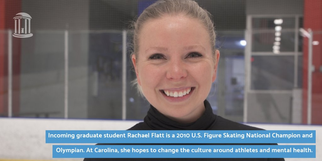 Rachael hopes to use her master's and Ph.D. in clinical psychology to develop digital mental health tools to help athletes who deal with eating disorders and mental health as a whole. Learn more as she begins her journey at #UNC: https://t.co/Qn22WfuCgS https://t.co/QODgxgWpvy
