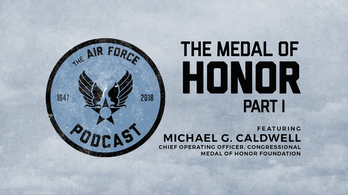 #DYK, the #MedalofHonor is the highest award for bravery that can be awarded to members of the United States Armed Forces. #TuneIn to the #USAFpodcast to learn how this prestigious medal originated.  https://www. youtube.com/watch?v=IyLt-G lSsM4 &nbsp; … <br>http://pic.twitter.com/38mzRm6cPS