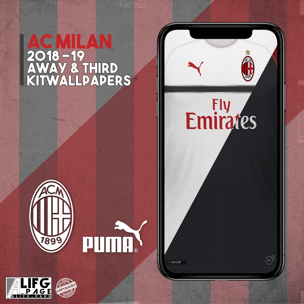 Alifg Page Auf Twitter Acmilan 2018 19 Away Third Kit