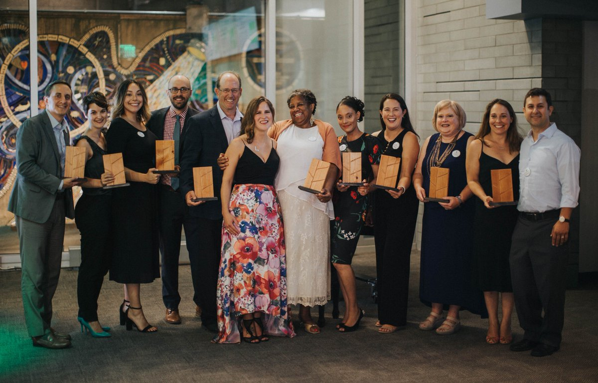 Congratulations to the 2018 @SustainPHL award recipients and nominees! You are the changemakers that are leading Philadelphia towards a more sustainable future.  http:// bit.ly/2PbAmY1  &nbsp;   #SustainPHL<br>http://pic.twitter.com/XSO3gbicwv