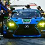 SPEED LIMIT N/A. Keep up with this weekend's race at @lexusracingusa.