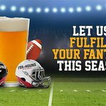 Image for the Tweet beginning: Book your fantasy football draft