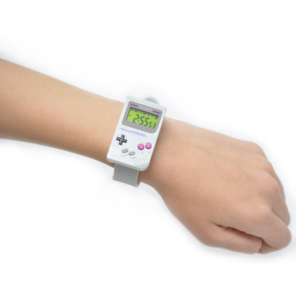 Check out this Game Boy inspired wristwatch! Now available at #NintendoNYC $24.99 +tax.