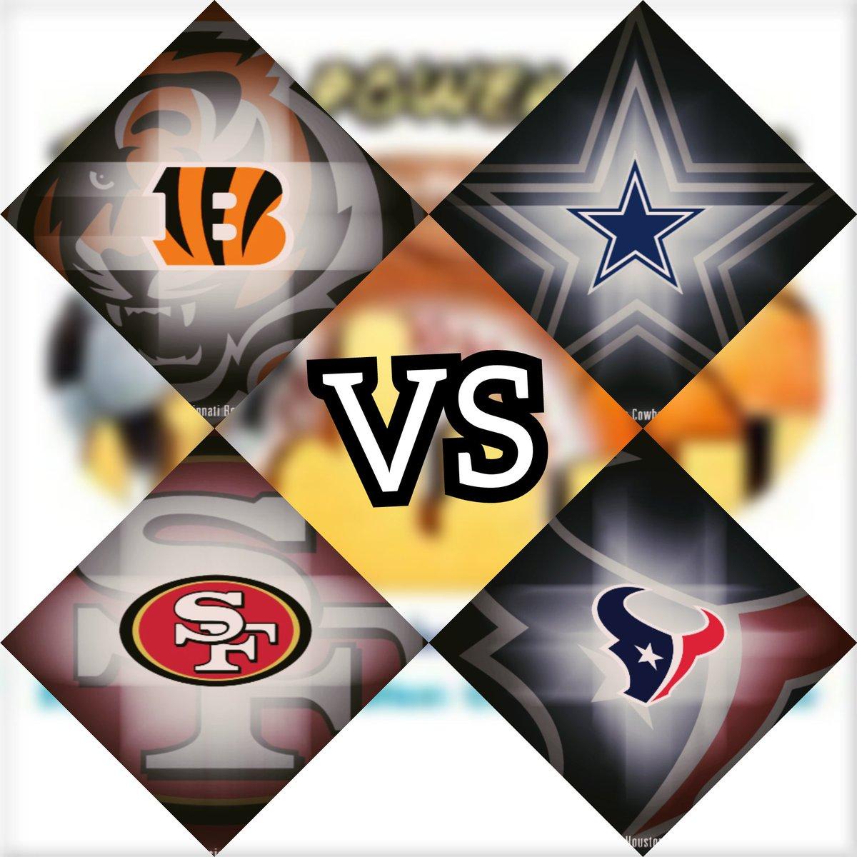 We&#39;re getting closer to some Texas Football!!!   Cowboys vs Bengals  Texans vs 49ers  #CowboysNation #WeAreTexans<br>http://pic.twitter.com/WOkGJQX0mC
