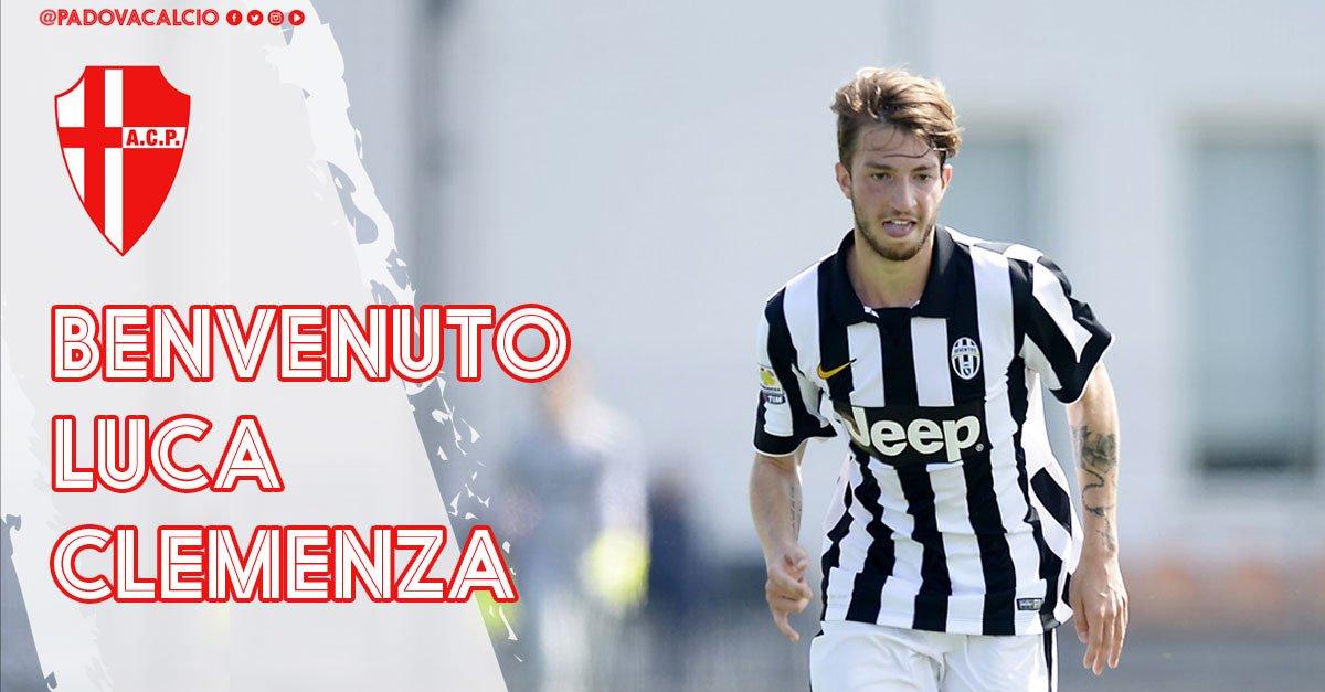 Ufficializzato il passaggio al #Padova del centrocampista classe 1997 Luca #Clemenza dalla #Juventus in prestito annuale. http:// www.padovacalcio.it/luca-clemenza-padova/  - Ukustom