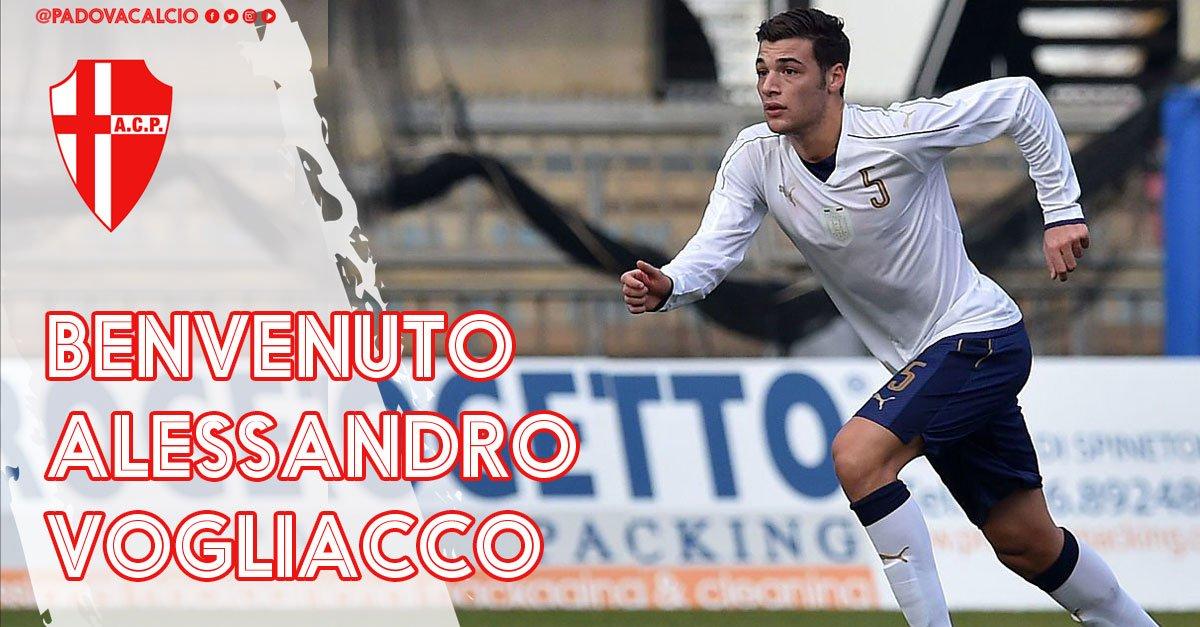 Ufficializzato il passaggio al #Padova del difensore classe 1998 Alessandro #Vogliacco dalla #Juventus in prestito annuale.  http:// www.padovacalcio.it/alessandro-vogliacco-padova/  - Ukustom