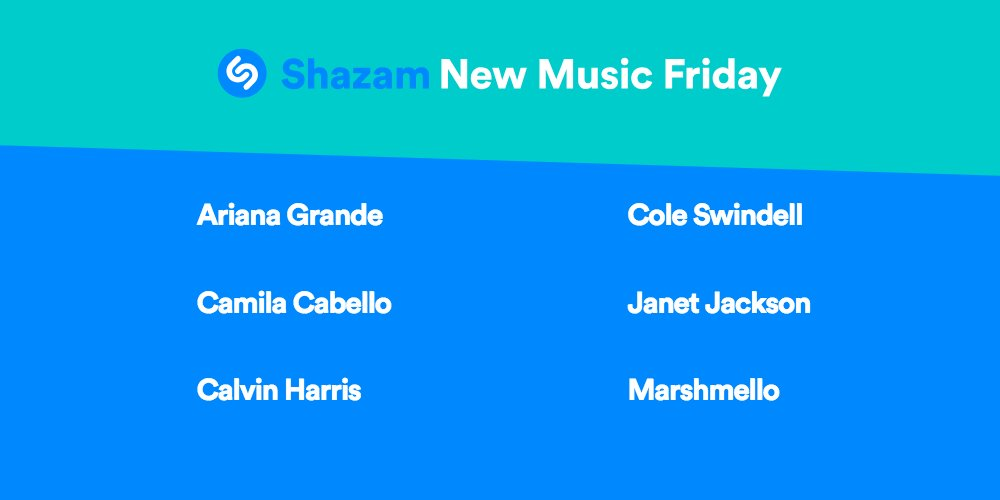 #NewMusicFriday is here!! Listen to the latest from @ArianaGrande, @Camila_Cabello, @CalvinHarris, @coleswindell, @JanetJackson, @marshmellomusic &amp; more ---&gt;  http:// apple.co/2hqUyJb  &nbsp;   <br>http://pic.twitter.com/0urxsmF1gd