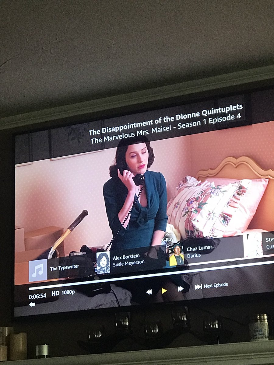 @MaiselTV @PrimeVideo you guys actually credited the typewriter  I'm dying  #marvelousmrsmaisel <br>http://pic.twitter.com/Ak6zimrczF