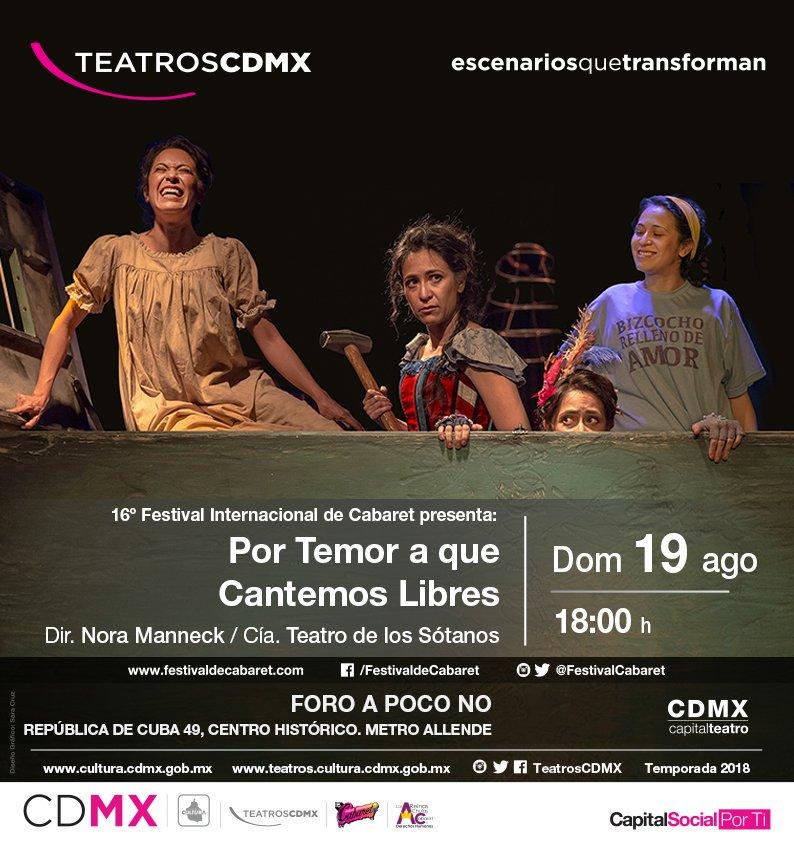 #FelizViernes #FelizFinde #FestivalInternacionalDeCabaret domingo 6:00pm @FOROAPOCONO RT  @VamosAlTeatr0 @Radio_TRock @alasbutacas @teatrocartelera @orgasmocultura @micarteleramx @CarteleradeT @mx_df @DfectuosoG @DFHambrientas @teatreros_df @HazDF @tour_df @Entretenia <br>http://pic.twitter.com/aAjkkPJUQT