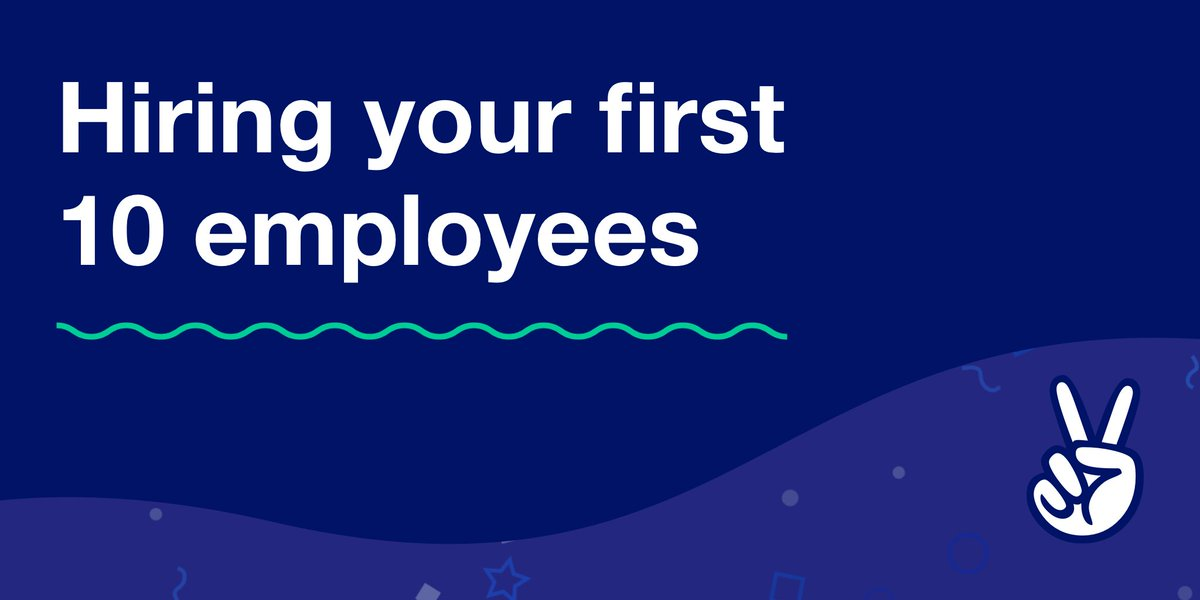 Your first 10 employees will make or break your startup.  Learn to hire right from 1,000+ rocketship startups   https:// angel.co/talent-hacks/h ow-to-hire-your-first-10-employees &nbsp; … <br>http://pic.twitter.com/AuMkqT5kMb