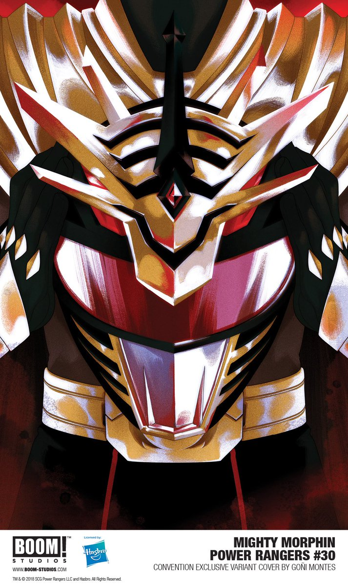 Hey Ranger fans, visit us at @PowerMorphicon booth #511 to pick up our #PowerRangers: #ShatteredGrid exclusives! #PMC