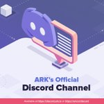 Image for the Tweet beginning: Announcing the Official #ARK Discord!