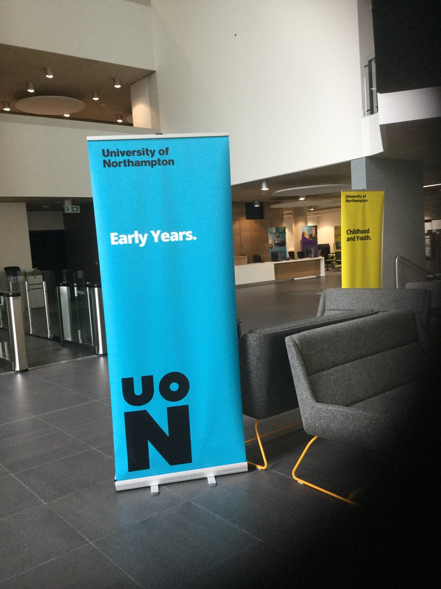 Really looking forward to welcoming our visitors who want to study #EarlyChildhood tomorrow @UniNorthants.  Please come and see our lovely new campus &amp; hear all about our new Early Childhood Graduate Practitioner. #changemakers  #waterside<br>http://pic.twitter.com/ZJZTkqcpvZ