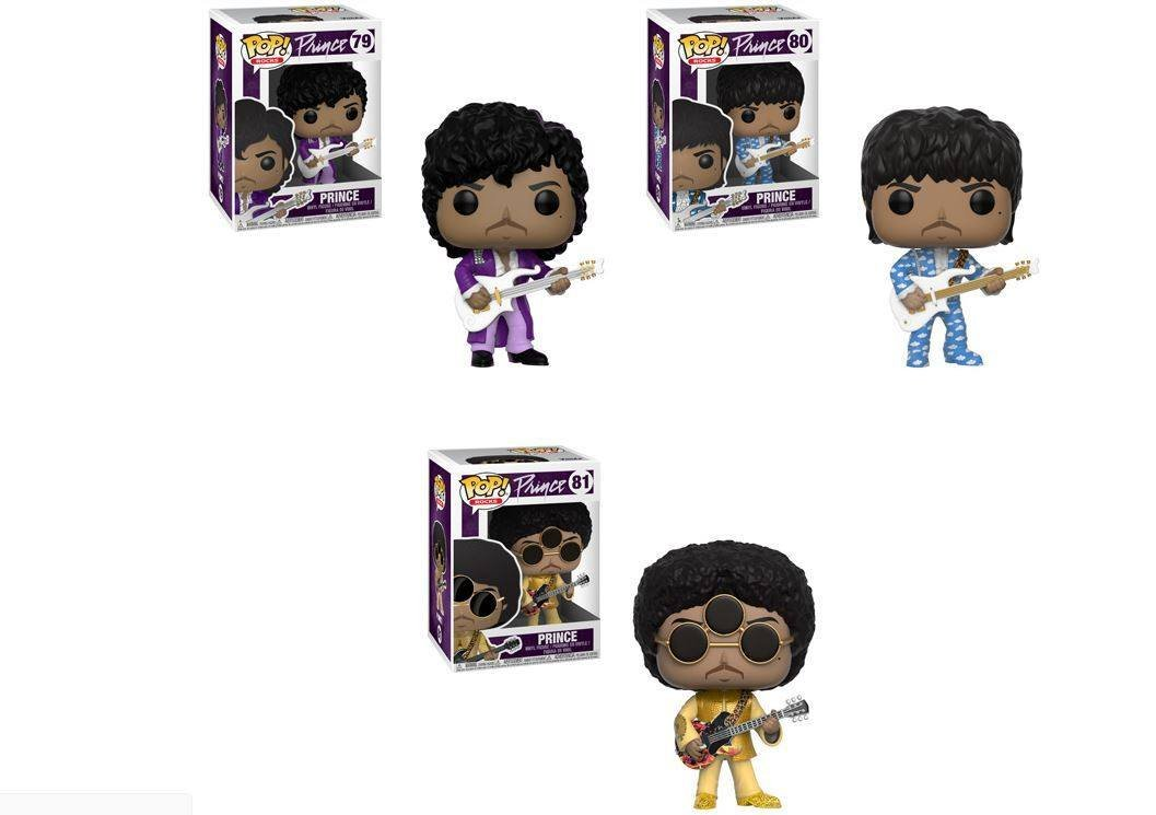 Rocks Pop Prince Purple Rain n°79 Funko