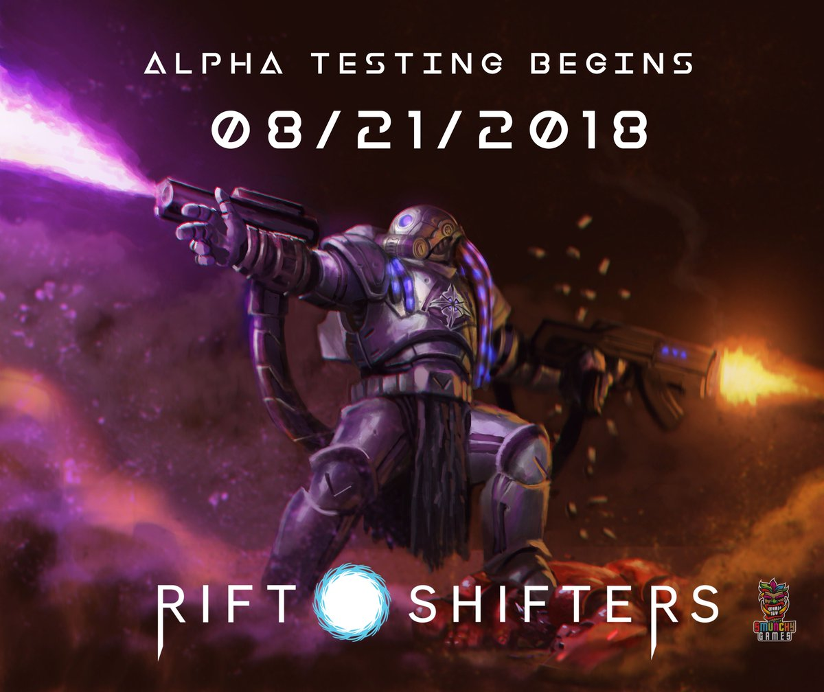 Rift Shifters Alpha 08/21/2018! Designer Will Esgro will be hosting sessions on TTS. We are actively seeking playtesters!  Join us by signing up for the newsletter here  https:// smunchygames.com/riftshifters/  &nbsp;   Or Join us on discord here  https:// discord.gg/BfssuVU  &nbsp;   #boardgames #bgg<br>http://pic.twitter.com/efnUYJwOsN
