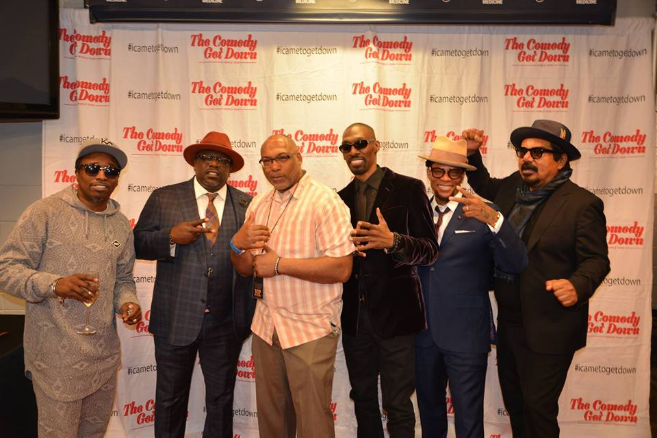 Sometime you think of the great moments you&#39;ve been blessed to have in your life and career this was one of my favorites!!! Big ups to @CedEntertainer @EddieGriffinCom @RealDLHughley @georgelopez #RIP @charliemurphy !!!!!  #Journalism #Media #Midwest #Travel #Dads #Fathers #Laugh<br>http://pic.twitter.com/nmXLJOnYpb
