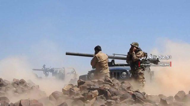 Попались.Сирийские военные отловили четырех боевиков ИГИЛ