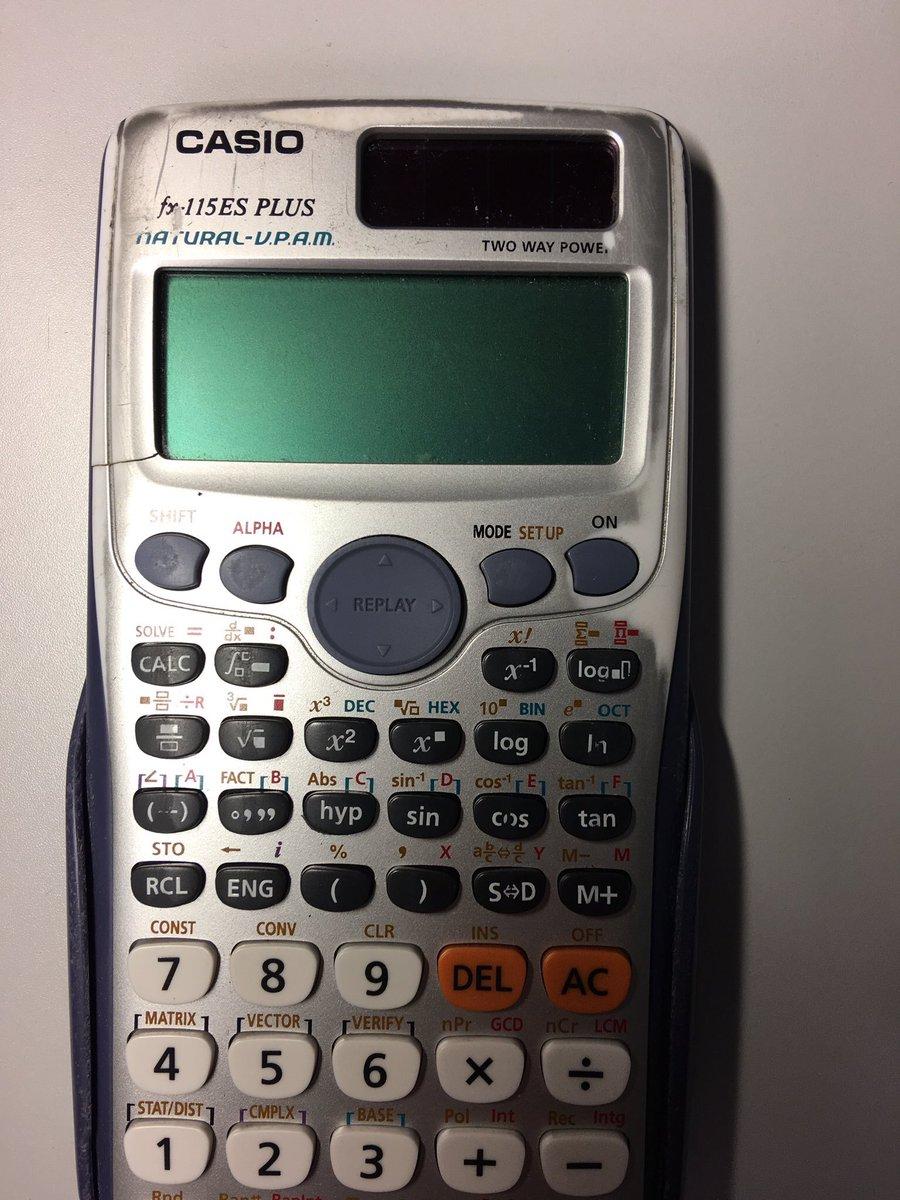 Casio Fx 115es Plus user Manual