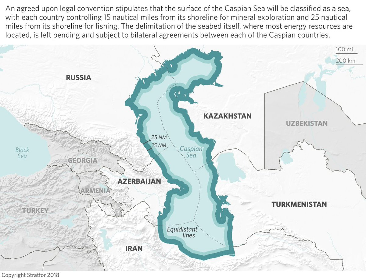 Stratfor On Twitter What Does The New Caspiansea Agreement Mean