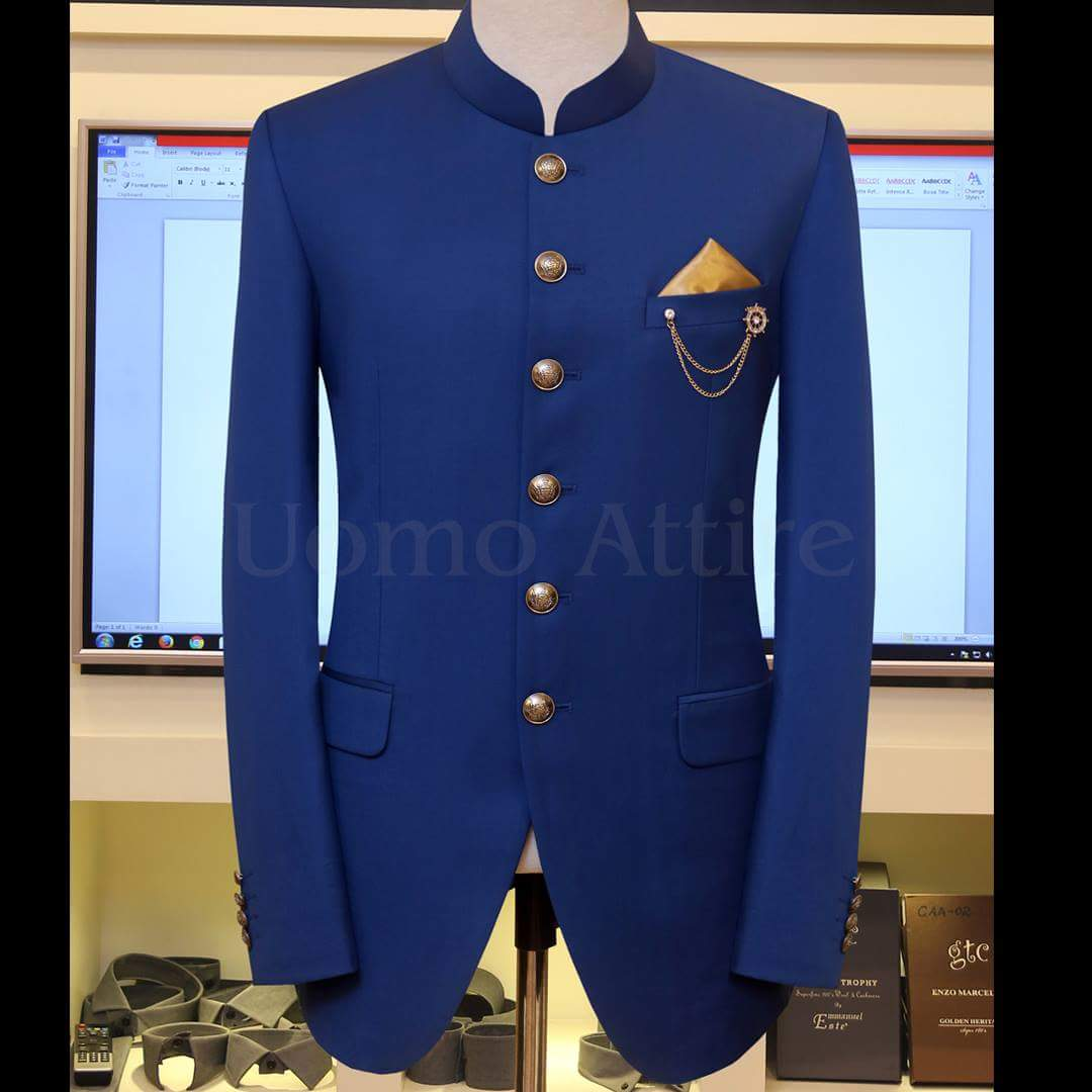 Uomo Attire On Twitter Zink Blue Prince Coat Connected With A