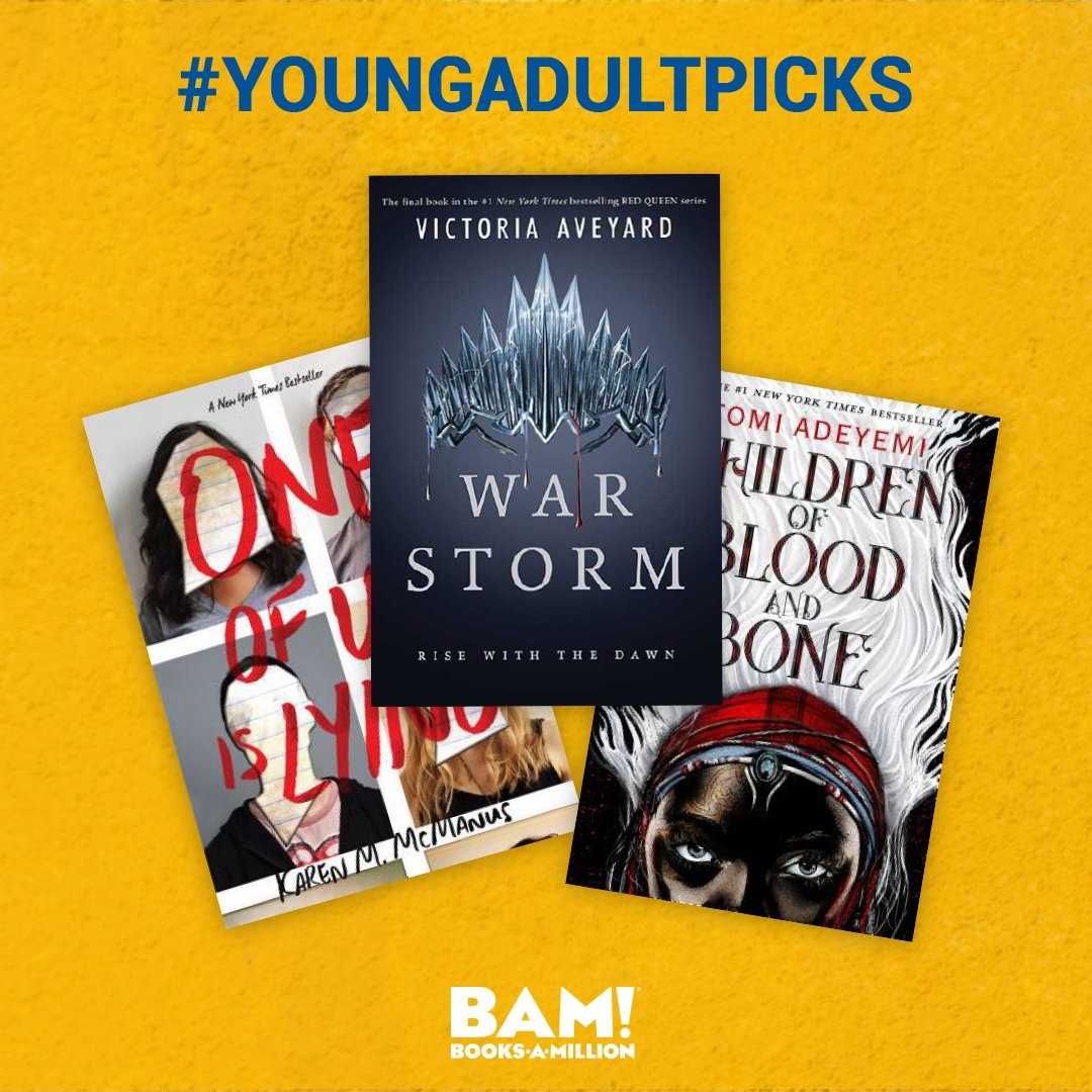 Must read #YA guilty pleasures are at #BooksAMillion. What is your favorite #youngadult series or book? bit.ly/2ODxbqJ
