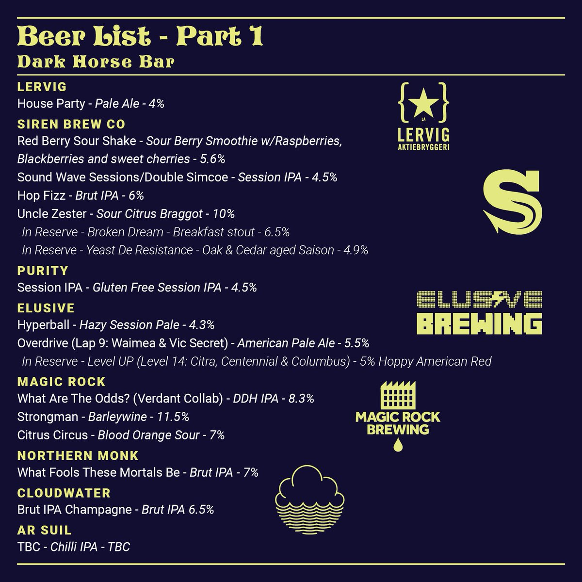 B-B-B-B-BEER LIST! It's been long awaited, not least by us, and it's finally here. The list is finally in for Moseley Craft Beer Festival. Feast those eyes and prepare yourselves, it all starts next Friday... #MCBF2018<br>http://pic.twitter.com/HgFDsGvtYh