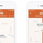 Image for the Tweet beginning: Transit App Expands Real-Time Crowdsourced