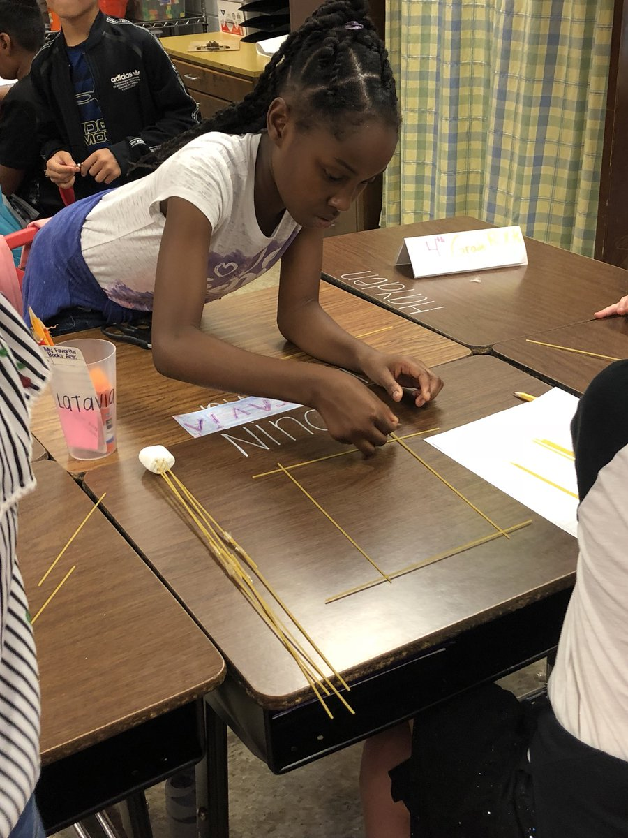 Who can build the tallest tower???@DunnPrincipal @JCPSKY @JCPSSuper