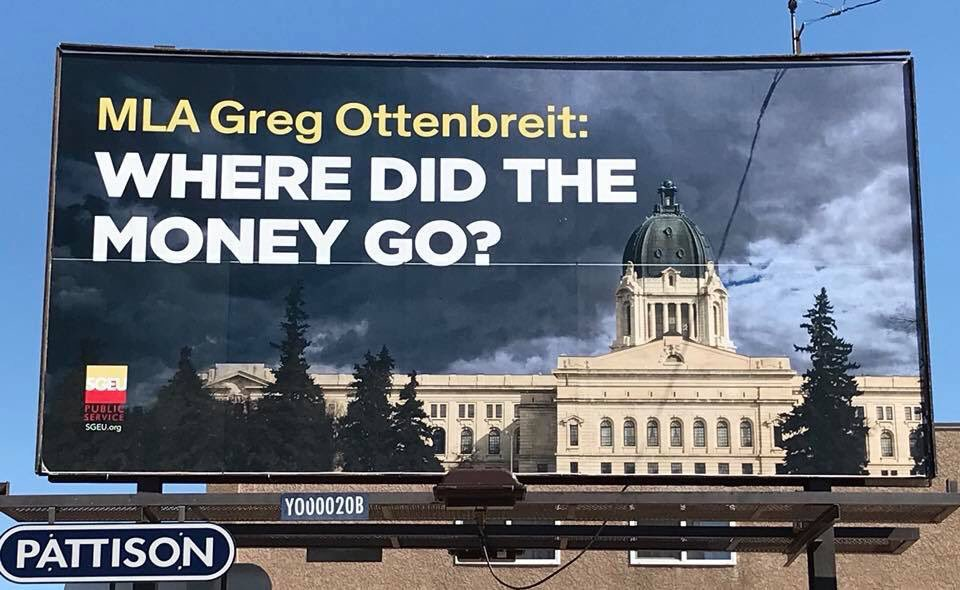 Just in case you saw these ominous @sgeu billboards and were also wondering..  @GregOttenbreit does a great job walking through how the money went back to Sask people. 👏👇  https://t.co/NPYxk5WO63 #skpoli