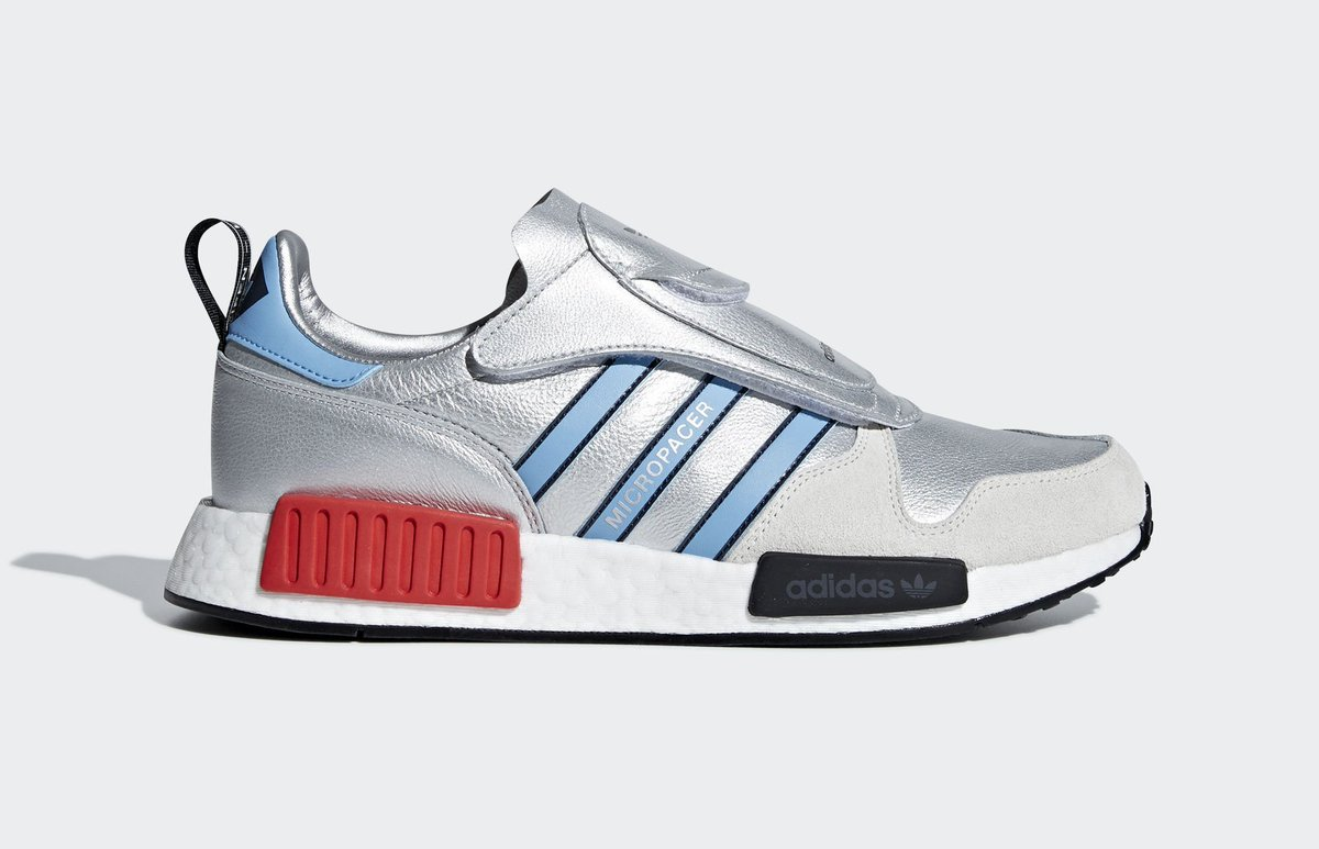"c84f192c4 Official Look at the adidas Micropacer R1 ""Metallic Silver"" releasing in  Septemberpic.twitter.com cAfXgR4mdQ"