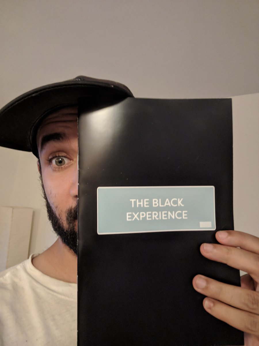 Ayyyyeeee! I got print copies of &quot;The Black Experience&quot; in today (art by the super talented @ahmarasmithart). Only did a small run, but I should have a bunch more in September for folks who wanted a copy. #comics #BlackLivesMatter  <br>http://pic.twitter.com/maX72B3Fwp