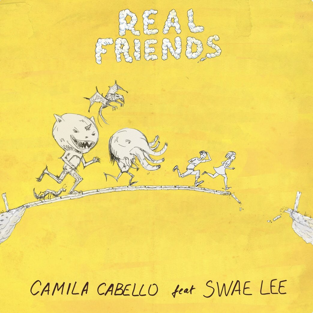 me listening to #realfriends by @Camila_Cabello ft @goSwaeLee
