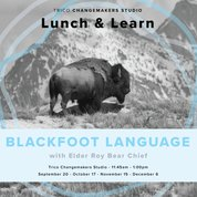 Oki. Join Elder Roy Bear Chief at the Trico Changemakers Studio to learn more about the Blackfoot language, including the importance of practicing and revitalizing this language, and learn Blackfoot words and phrases. <br>http://pic.twitter.com/1zQ54iIk6S