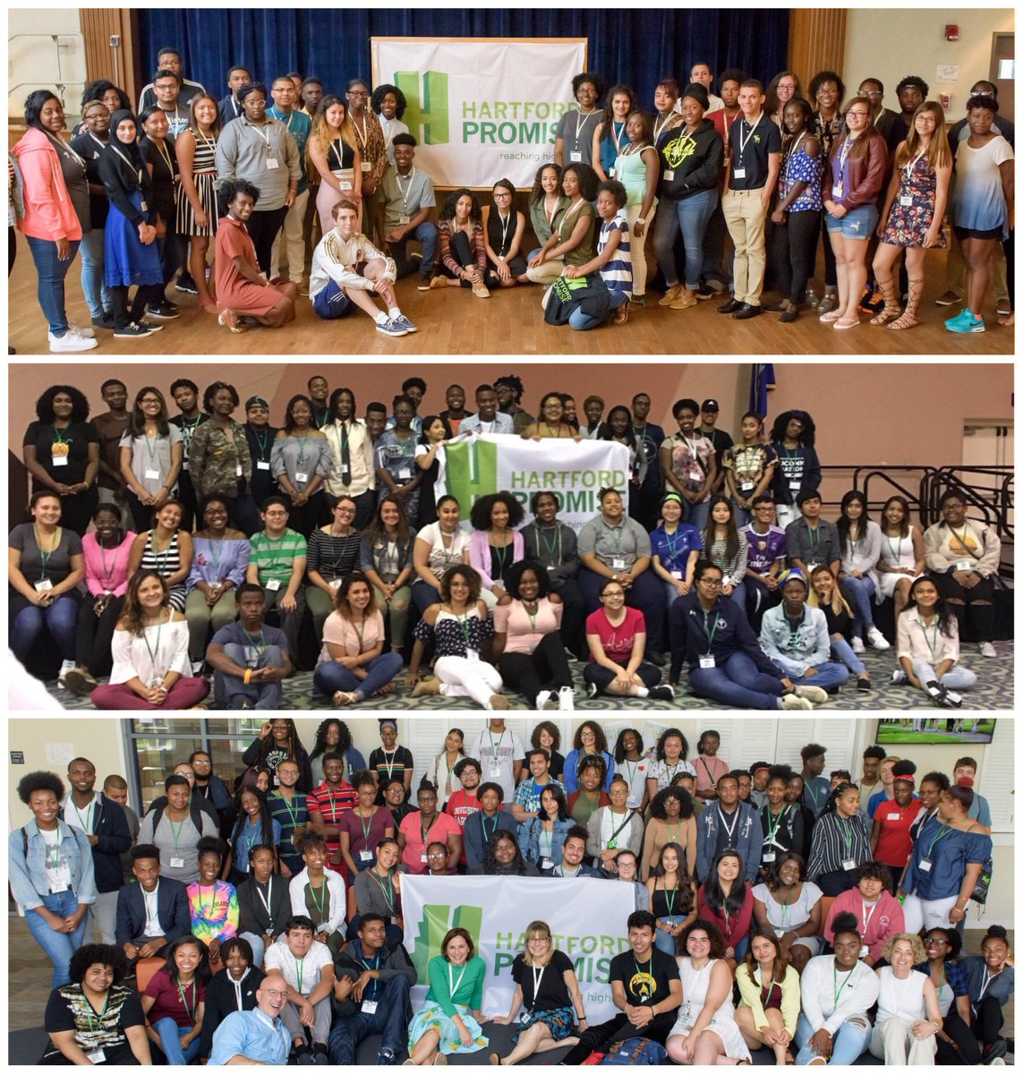 3 years of #PromiseScholarDays. 3 years of #PromiseScholars. 400 #PromiseScholars. 60+ colleges around the country. Transforming lives. Transforming Hartford. #thisiswhatwedo.<br>http://pic.twitter.com/fICsyHrl5y