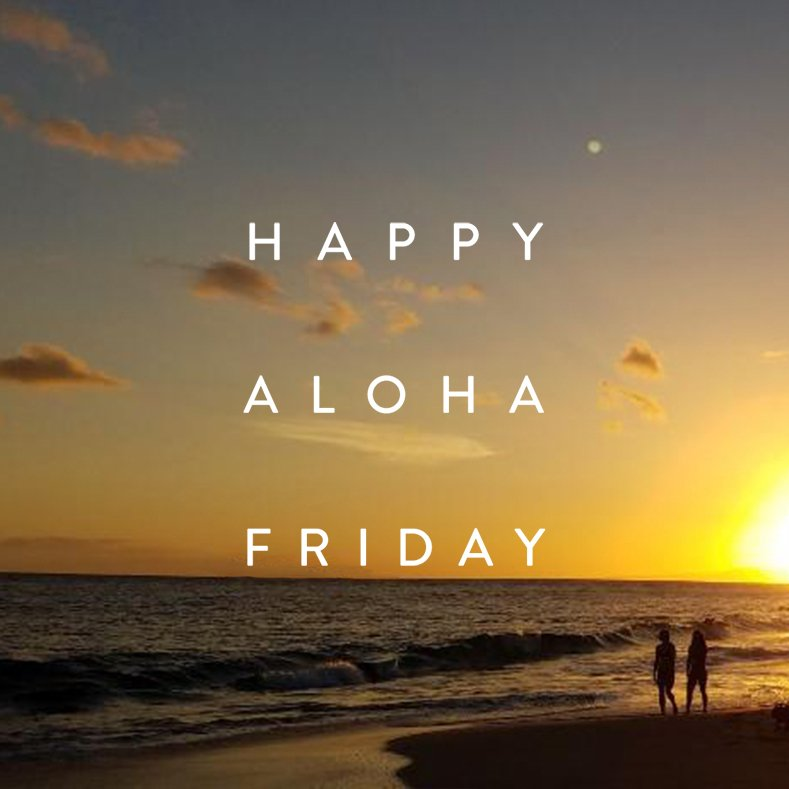 Happy #AlohaFriday! See you all next week!!!<br>http://pic.twitter.com/1h5RnncAB4