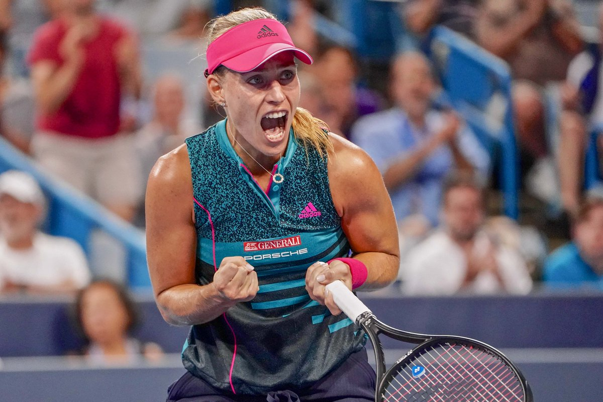 No matter what the outcome was this week, you still played well and you didn&#39;t give up @AngeliqueKerber   I&#39;m sure the US Open will be a great one this year  I can&#39;t wait to see you back on court there! #TeamAngie<br>http://pic.twitter.com/IZ2vWyveEr