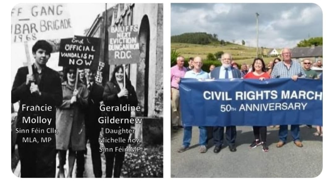 Take a stand for your rights  Take a stand for equality  Take a stand against discrimination   It was wrong in 1968 It is wrong in 2018 Bígí linn -civil rights march 3pm tomorrow starting at Coalisland <br>http://pic.twitter.com/RzKpbzT8Uh