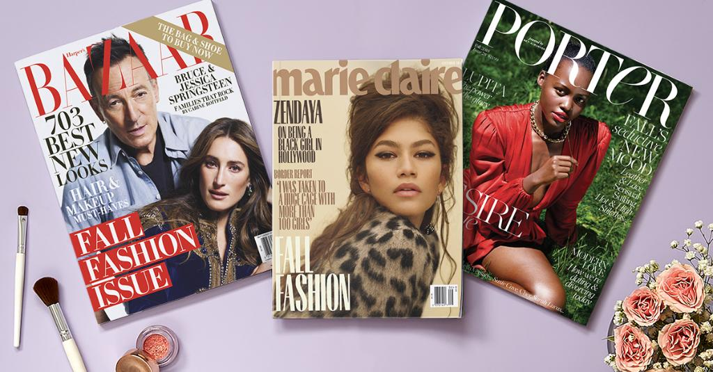 Its that time of year: Fall fashion magazines have arrived! Purchase the latest issue of InStyle or Porter in stores this week, and receive a free tote bag, while supplies last! Details: spr.ly/6018DvoqK