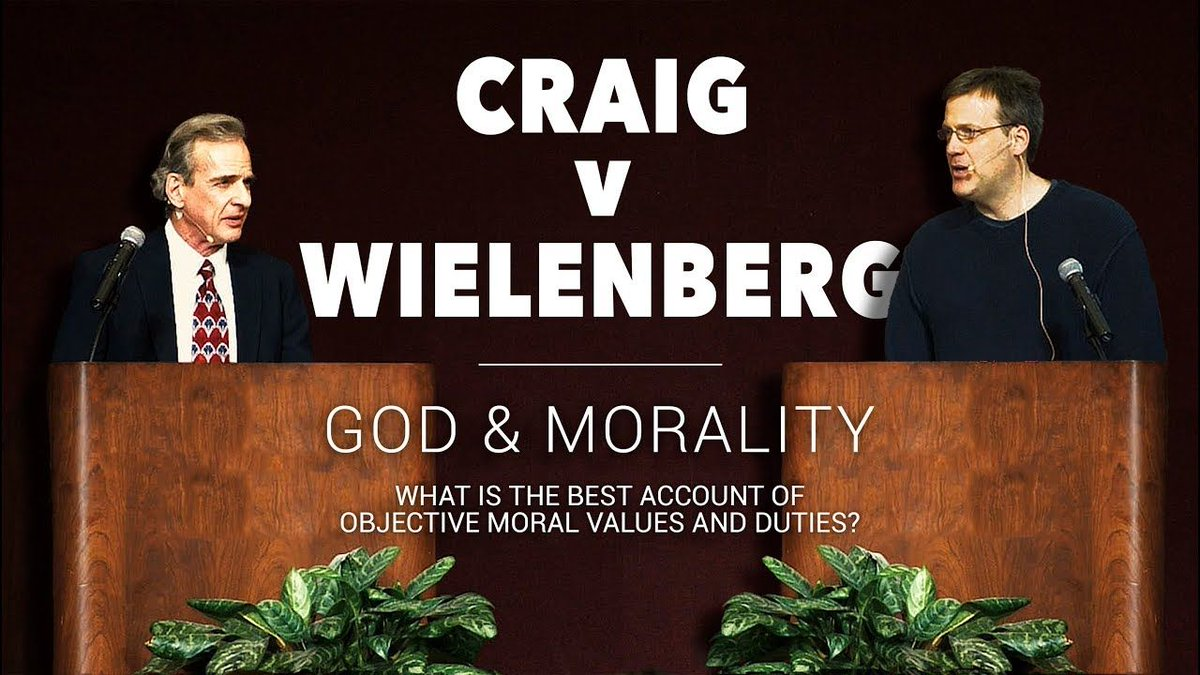 We&#39;re excited to release the full video of Dr. Craig&#39;s debate with Erik Wielenberg that took place at North Carolina State University. This NEW, edited version includes the approximately 180 presentation slides used during the debate #Apologetics  https:// buff.ly/2BkRw2f  &nbsp;  <br>http://pic.twitter.com/EUVVWYyohf