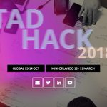 Image for the Tweet beginning: #TADHack Global registrations now at