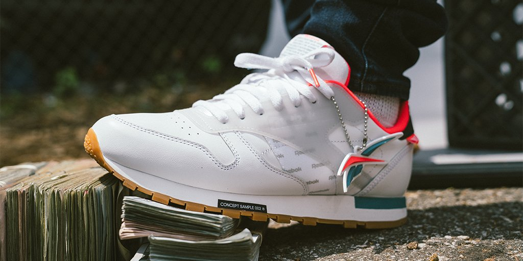 55250ebaf34 a classic reworked reebok classic leather altered in stores and online now  shop