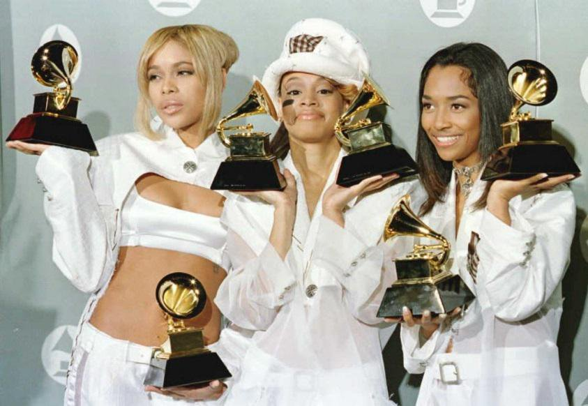 Taking it back to the s  @OfficialTLC took home their first GRAMMY awards at the 38th #GRAMMYs in 1996 for Best R&amp;B Performance By A Duo Or Group With Vocal (&quot;Creep&quot;) and Best R&amp;B Album (&#39;Crazysexycool&#39;). #GRAMMYVault <br>http://pic.twitter.com/qPLnN3AU2L