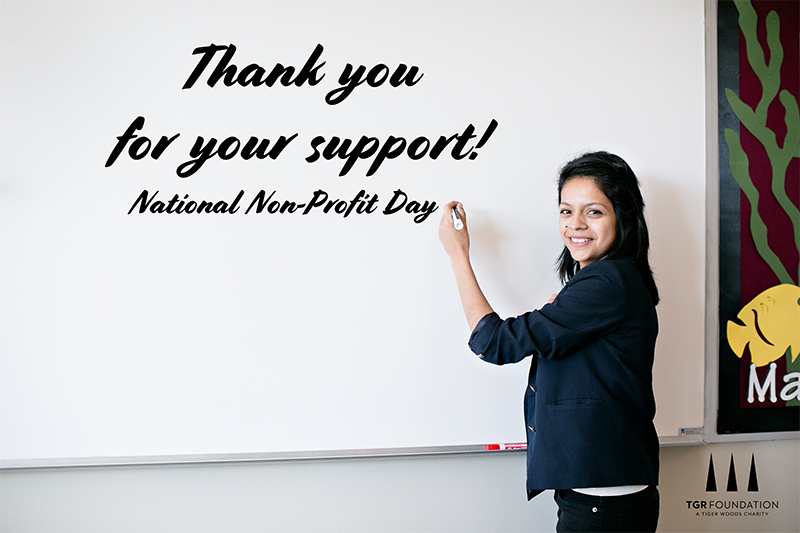 In celebration of #NationalNonprofitDay, we recognize our employees, donors, volunteers and supporters who help us use the transformative power of education to impact students, educators and families around the world. #ReachMillions