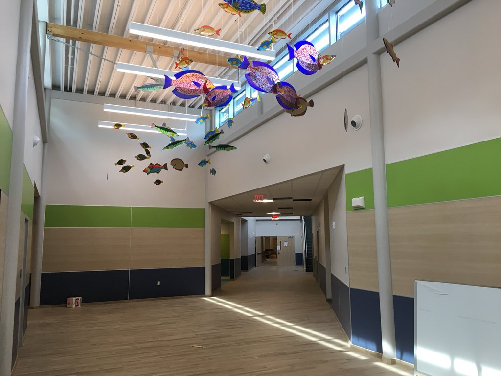 Portland Public Schools is offering tours today of the new Amanda C. Rowe Elementary School. This project is the result of a $29.7 million bond package passed by Portland voters in 2016, and is expected to be ready next month when kids go back to school. #wgme13 #fox23maine<br>http://pic.twitter.com/6Z3HuK0Sa9