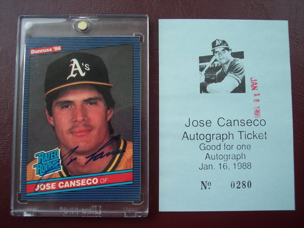 Jose Canseco Rookie At Cansecorookie توییتر