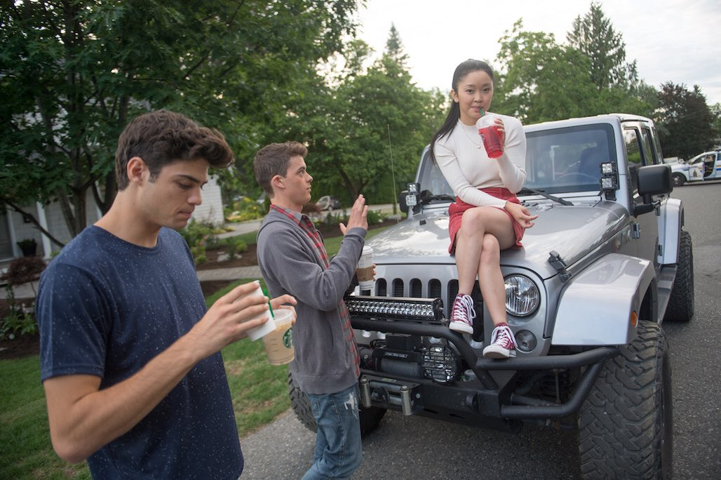 """""""To All The Boys I've Loved Before"""" is now streaming ... and totally amazing — BEHIND THE SCENES:"""