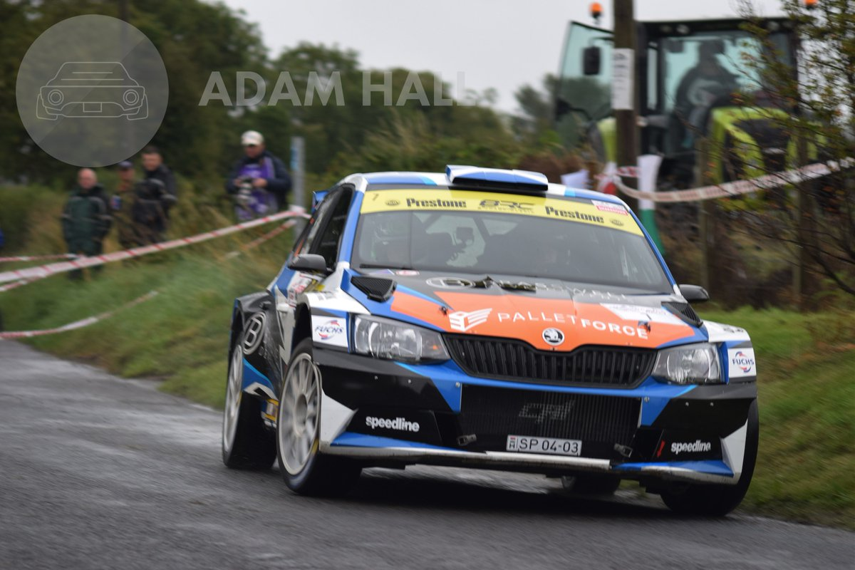 A selection of shots from what has been a very wet opening day at the Ulster Rally!