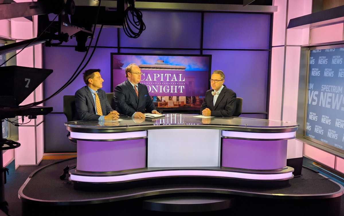 Must watch TV: @WayneGoodwinNC &amp; Dallas Woodhouse discuss today&#39;s news that NCGOP is threatening impeachment if justices don&#39;t rule in #NCGA&#39;s favor #ncpol<br>http://pic.twitter.com/sz0M8ufJjM