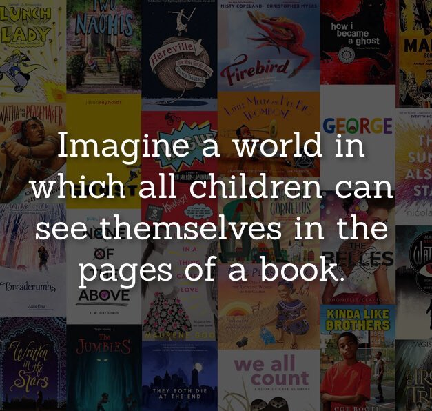 Image result for imagine a world in which all children can see themselves