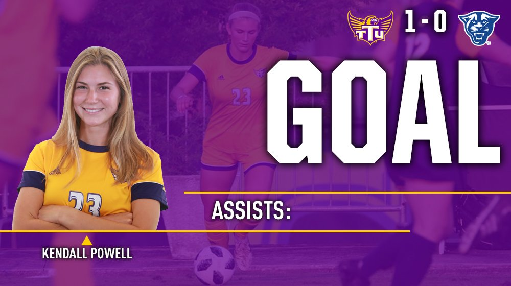 GOAL!!!!   @KendallFire53 gives Tech the lead in the 81st minute with the 1st goal of the season!  #WingsUp<br>http://pic.twitter.com/VhMZeq6A4k